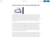 Get Easy Cash Flow with an Enhanced Web Design Platform