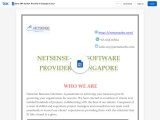 Best ERP System Provider in Singapore