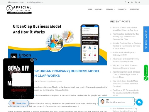 Urban Clap Business Model And How it Works