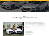 Luxury Wedding Cars for Rent in Trivandrum Kerala