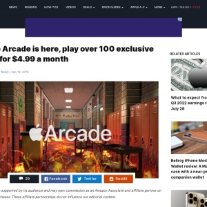 Apple Arcade is here, play over 100 exclusive titles for $4.99 a month