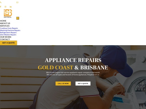 We have some great appliance repair people at our Gold Coast appliance repairs.