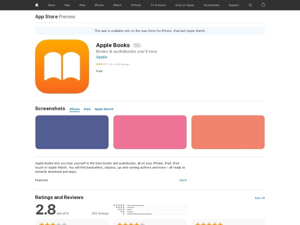 Apple Books - Best Audiobook App for iPhone 2020