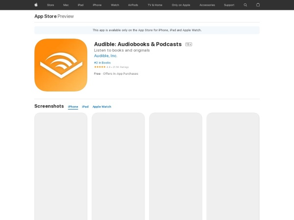 Audible Audiobooks & Originals - Best Audiobook App for iPhone 2020