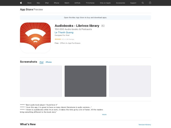 Audiobooks - Librivox library - Best Audiobook App for iPhone 2020