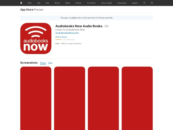 Audiobooks Now Audio Books - Best Audiobook App for iPhone 2020