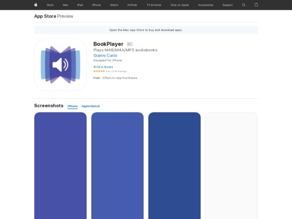 BookPlayer - Best Audiobook App for iPhone 2020