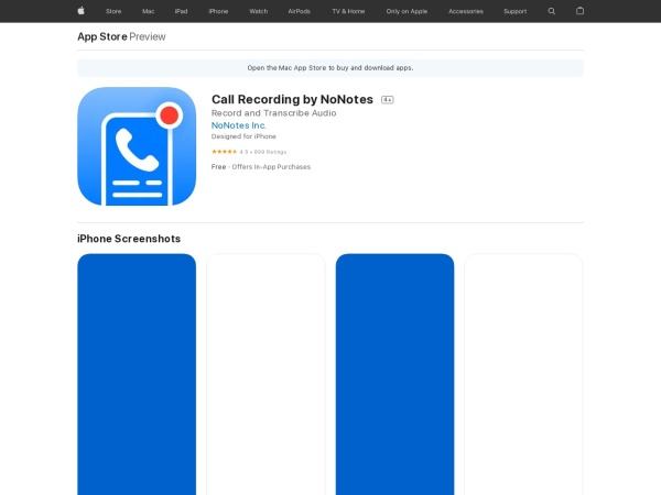 Call recordings by No notes - 11 Best Call Recorder For iPhone Free Apps (2020)