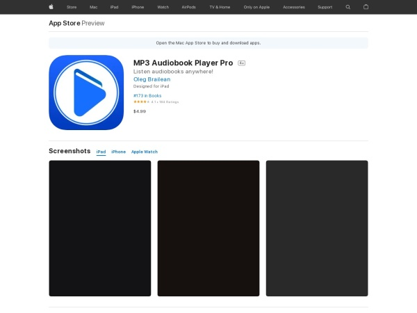 MP3 Audiobook Player Pro - Best Audiobook App for iPhone 2020