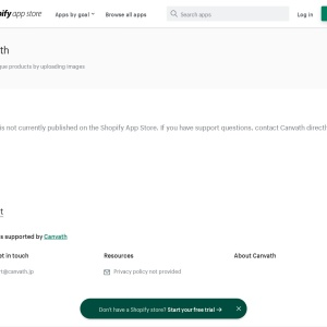 Canvath | Shopify App Store