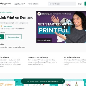 Printful: Print on Demand | Shopify App Store