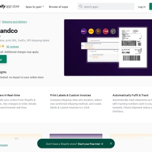 Shipandco – Ecommerce Plugins for Online Stores – Shopify App Store