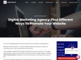 Digital Marketing Agency: Find Different Ways To Promote Your Website.