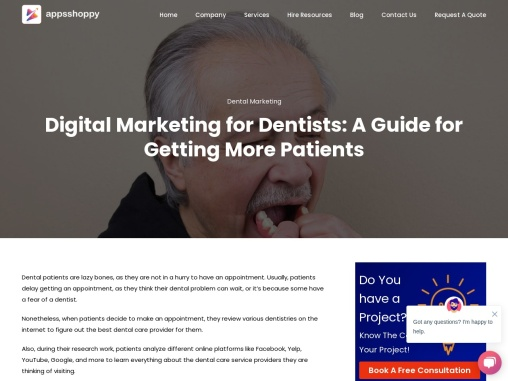 Title  – Digital Marketing for Dentists: A Guide for Getting More Patients