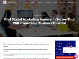 Find Digital Marketing Agency In Surrey That Will Propel Your Business Forward.