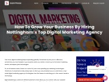How To Grow Your Business By Hiring Nottingham's Top Digital Marketing Agency?