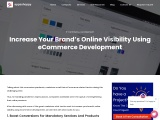 Increase Your Brand's Online Visibility Using eCommerce Development