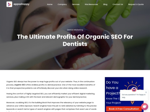Title: – The Ultimate Profits Of Organic SEO For Dentists