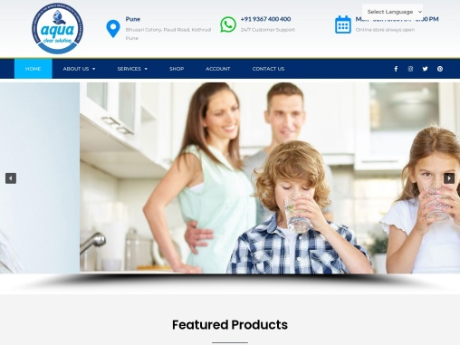 Best Water Purifier Supplier and Repairing Services in Pune – Aqua Clear Solution