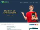 Did you know it is possible to study in UK without IELTS