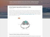 Arizona Turquoise rings jewellery manufacturer in Jaipur