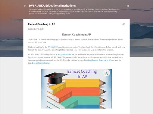 Eamcet Coaching in AP | JEE mains coaching in AP