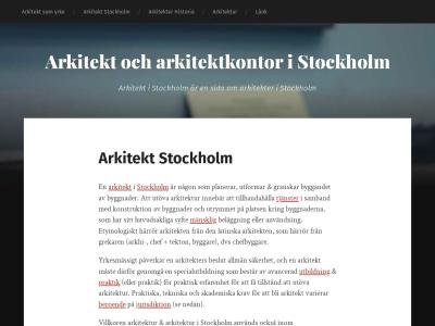 arkitektstockholm.se