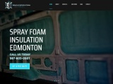 Spray foam insulation services in Edmonton