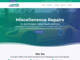 Arnold Fibreglass gelcoat repair Brisbane goldcoast