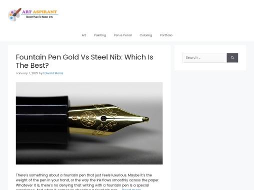 gel pens for coloring for art aspirants