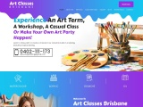 Experience An Art Term, A Workshop, A Casual Class Or Make Your Own Art Party Happen!