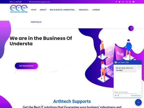 Arthtech supports private limited