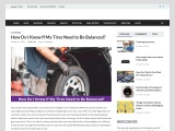 How Do I Know If My Tires Need to Be Balanced?