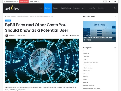 ByBit Fees and Other Costs You Should Know as a Potential User