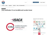CISA Certification: For an Incredible and Lucrative Career | certxpert.com