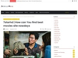 7starhd | How can You find best movies site nowdays