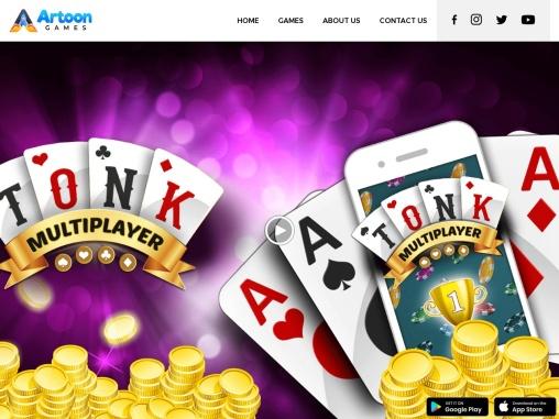 Tonk Multiplayer – Online Gin Rummy Free Variation Card Game | Artoon Games