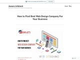 How to Find Best Web Design Company For Your Business