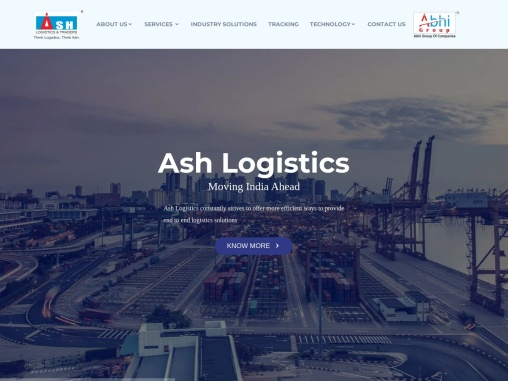 Ash Logistics is one of the leading logistics companies in the globally