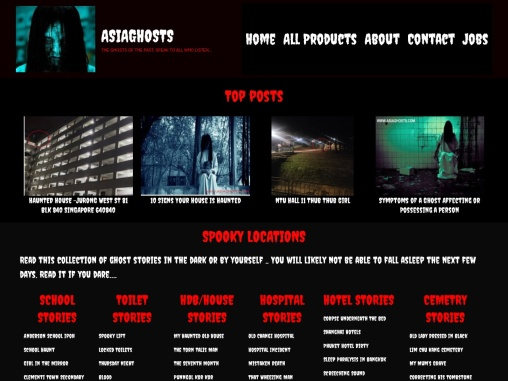 Asia Ghost Stories and Ghosts Products