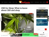 What You Should Know About CBD and Sleep