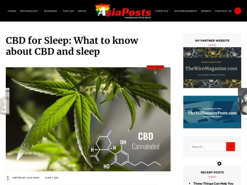 CBD for Sleep and What Exactly You Should Know