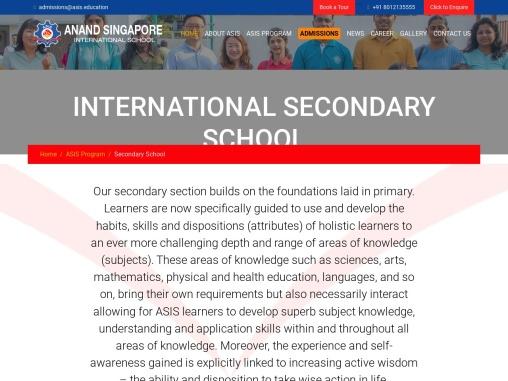 Best IGCSE Syllabus Schools in Chennai | Cambridge Lower Secondary School – ASIS