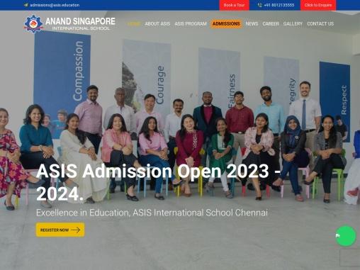 Best International School in Chennai   Singapore, Cambridge & IB – ASIS