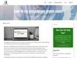 Solve QuickBooks Error H505 | QuickBooks Error Support