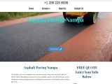 Asphalt Paving Nampa Commercial and Residential Paving Contractors