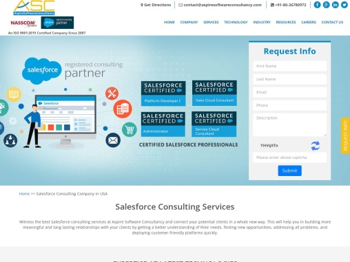 Salesforce Consulting Services | Salesforce Consulting Companies/Firms in USA