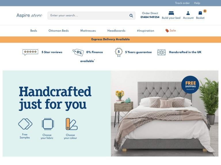 Aspire Store Discount Codes screenshot