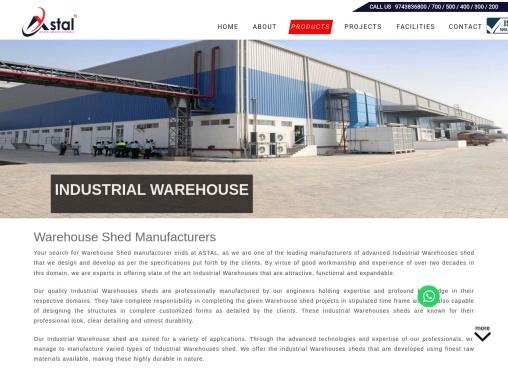 Warehouse shed manufacturers | Warehouse manufacturers | Astal Interbuild