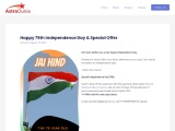 Happy 75th Independence Day & Special Offer